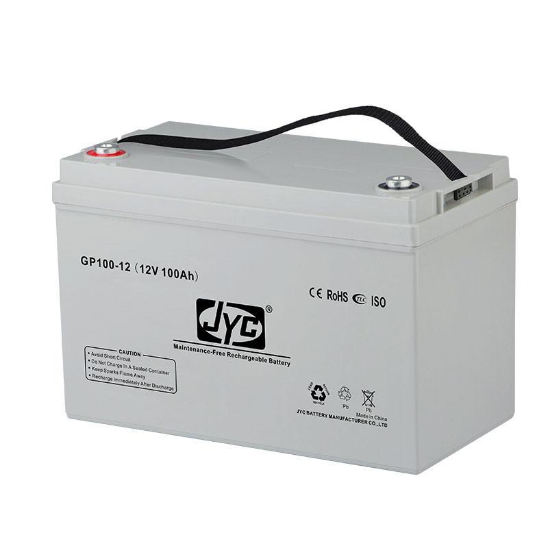 Maintenance Free Sealed Deep Cycle Gel Battery 12v 100ah Lead Acid Battery for UPS/Solar system/Backup