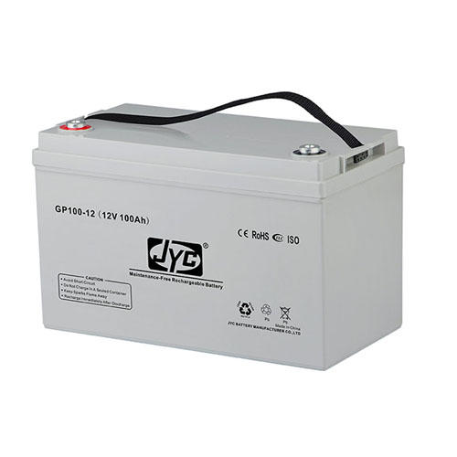 Maintenance Free Sealed Solar Gel Battery 12v 100ah Lead Acid Battery