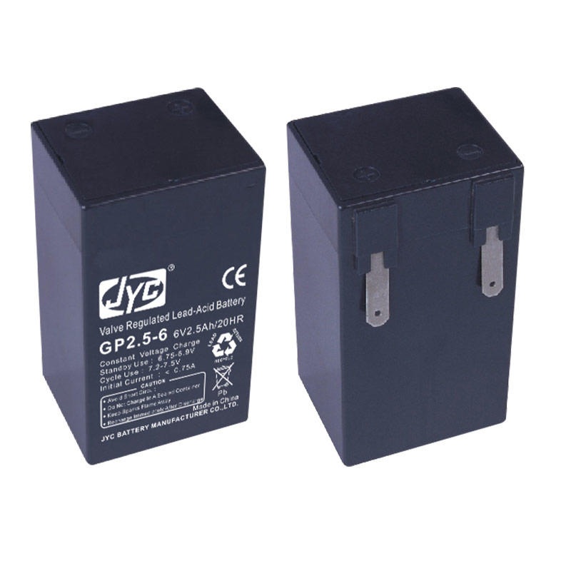 Military Quality Sealed Lead Acid Battery 6v 2ah Free ABS Black or Greyish White JYC Battery