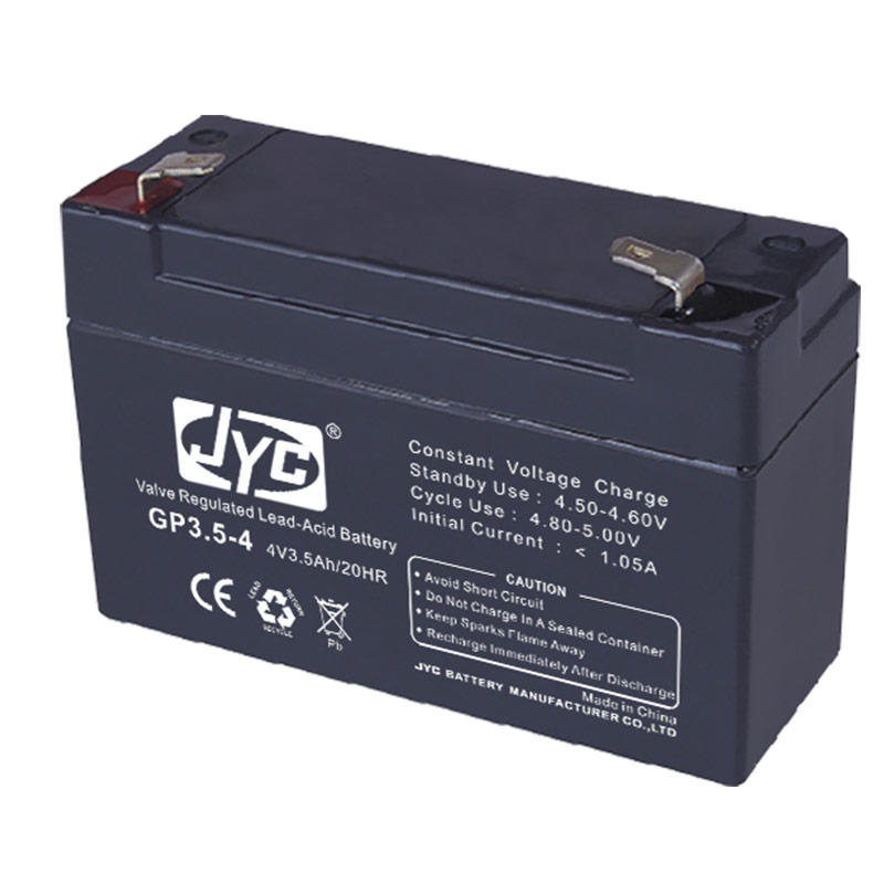 Newest hot selling rechargeable 4v 2.5ah sealed lead acid battery
