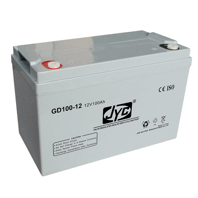 Maintenance Free Sealed Deep Cycle Solar Storage Battery 12v 100ah Lead Acid Battery