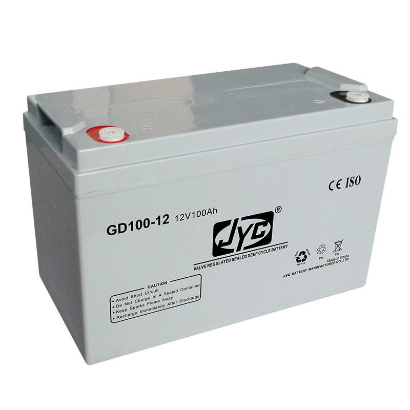 Maintenance Free Sealed Deep Cycle Solar Storage Battery 12v 100ah Lead Acid Battery