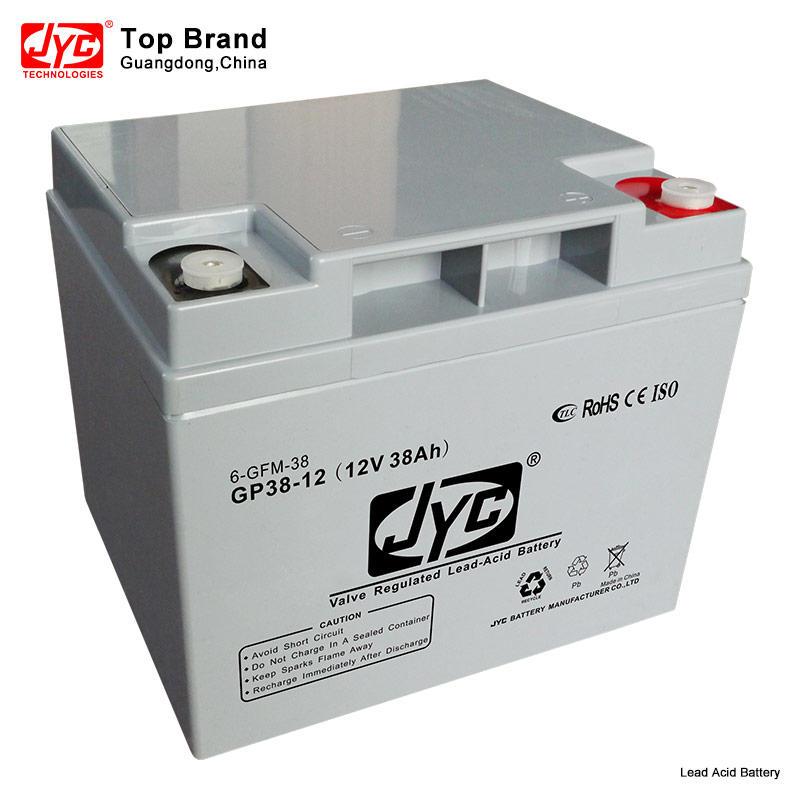 Maintenance Free Sealed UPS Battery 12v 38ah 20hr Lead Acid Battery