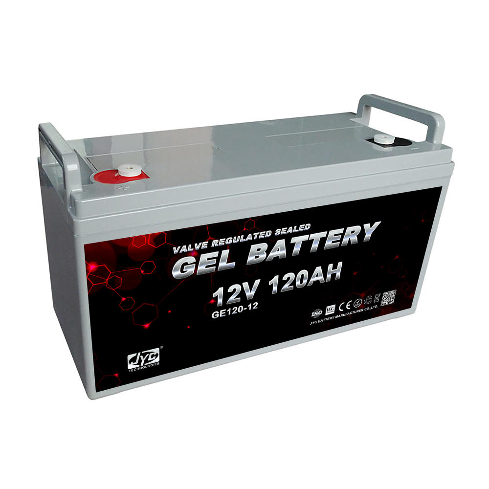 High Quality 12V 120Ah Deep Cycle Agmlead Lead Acid Battery For Telecomunicate Solar System