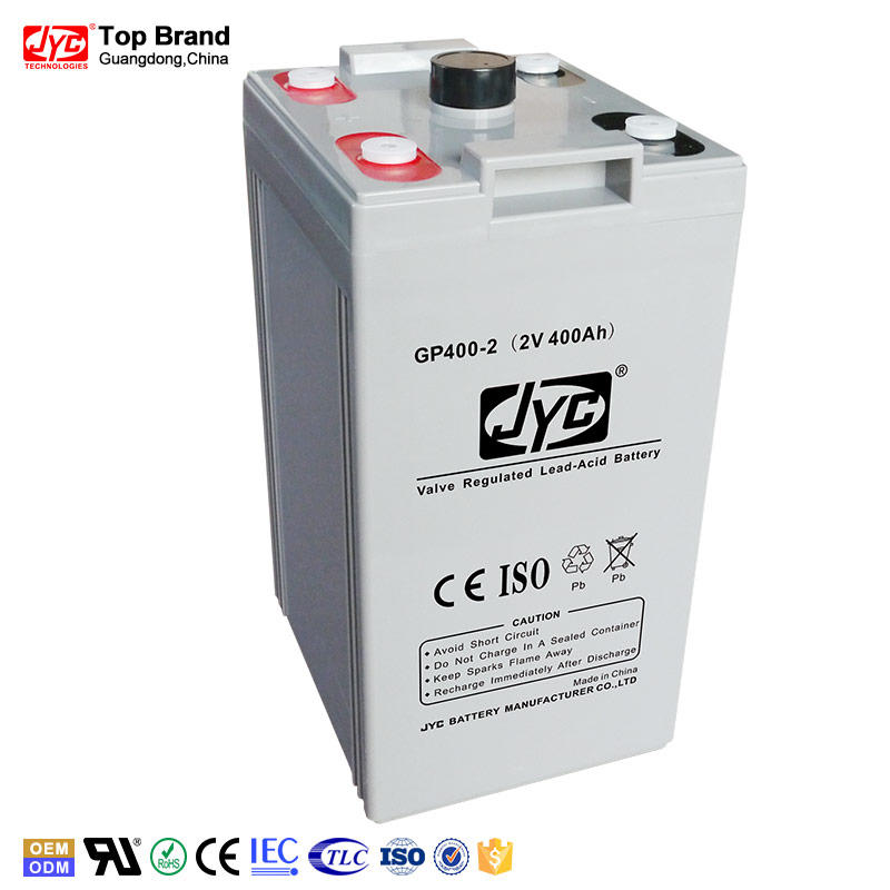 Battery Lead Crystal Deep Rechargeable 2v 400ah Free SEALED