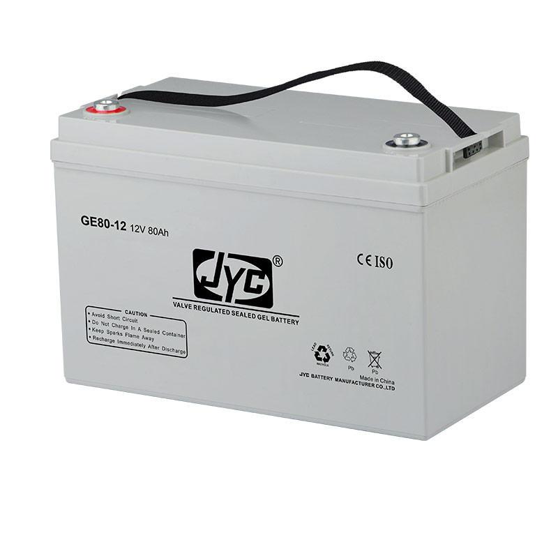 Maintenance Free Sealed Gel Battery 12v 80ah Lead Acid Battery for UPS/Backup