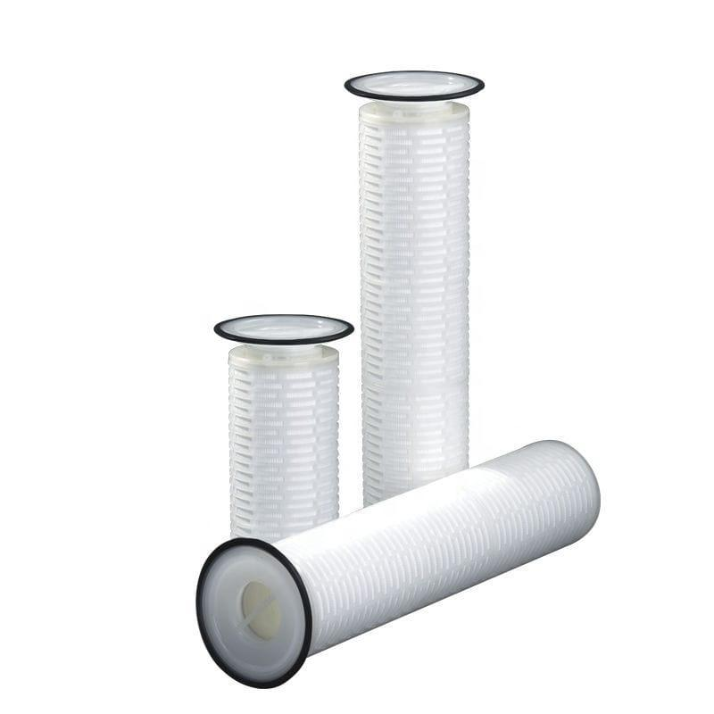 16 inches 32'' high flow pleated water filter replace filter bag cartridge type for bag filter housing