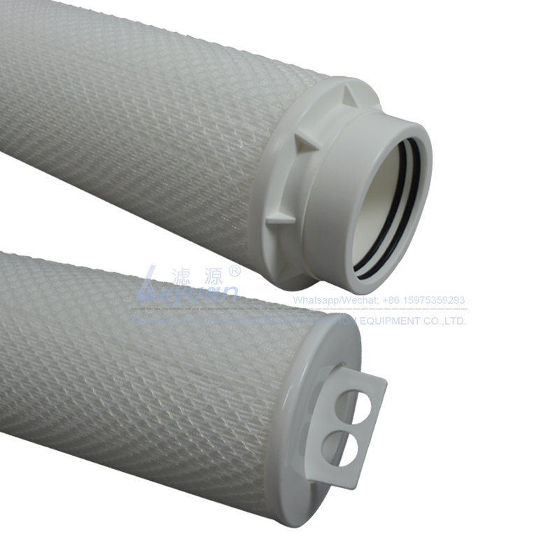 High flow pleated polypropylene 1/5/10 microns 40 60 inch water filtration cartridge pp for sea RO water treatment machinery