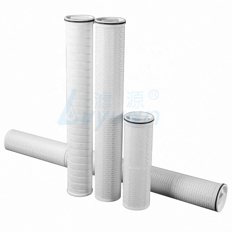 high flow pleated filter cartridge water pre-filters for protecting reverse osmosis parts