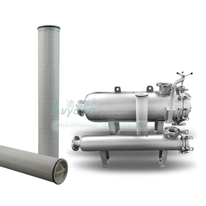High flow water filter housing filter polypropylene (PP) 5 microns cartridge pre filter for horizontal stainless steel housing