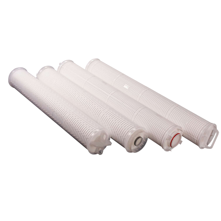 China supplier cartridge filter 60 inch high flow for water treatment purification
