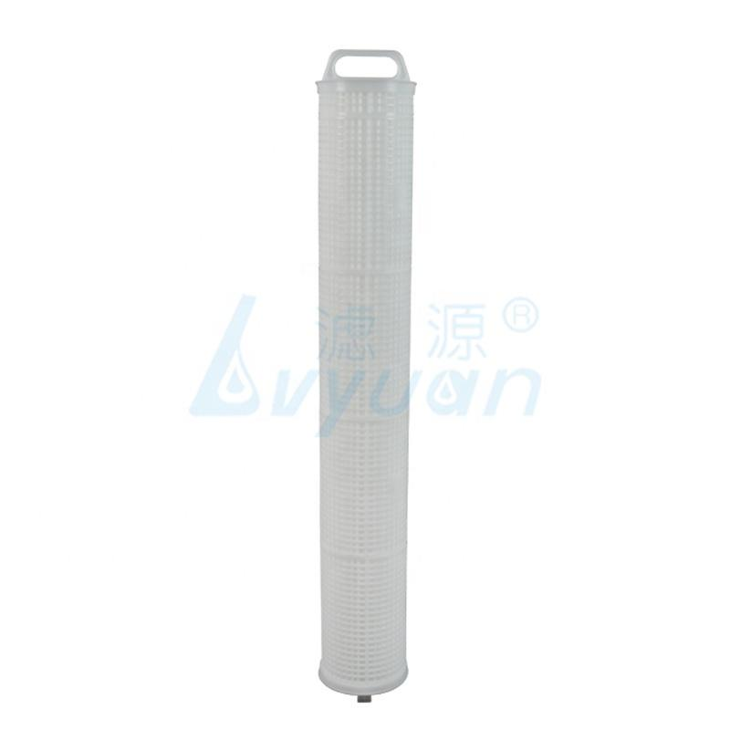 40 inch * 6 inch High flow pleated filter cartridge water filter elelment industrial filters for industrial water pre-filtration