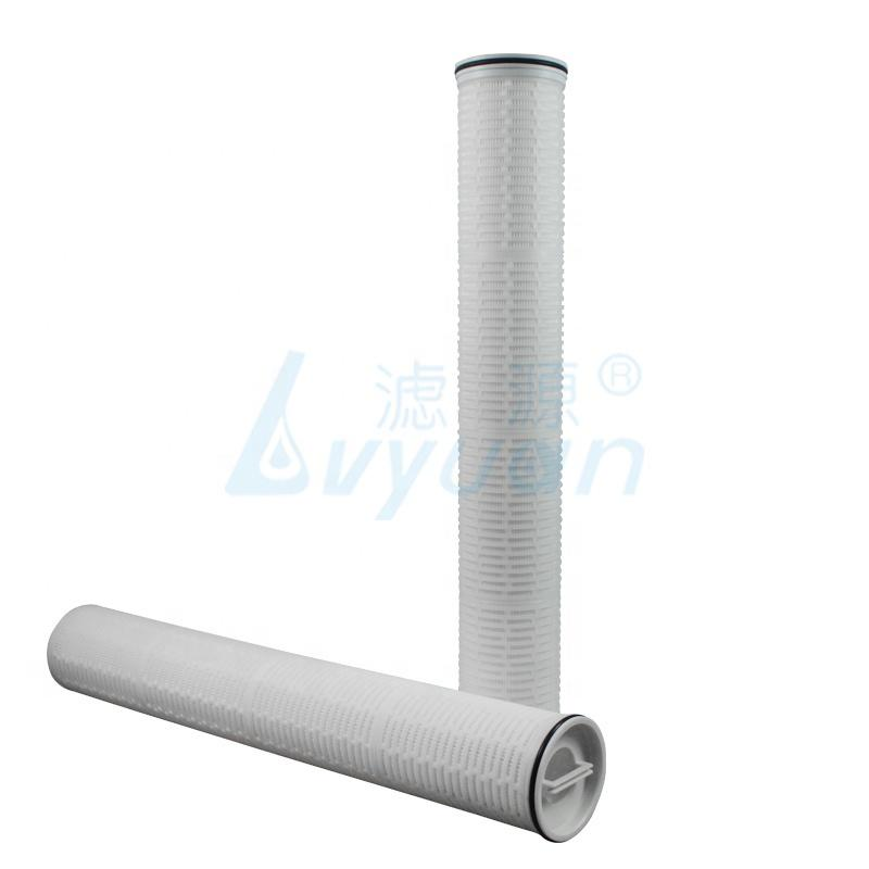 1 5 micron High flow pleated filter cartridge water cartridge filter 20 40 60 inch