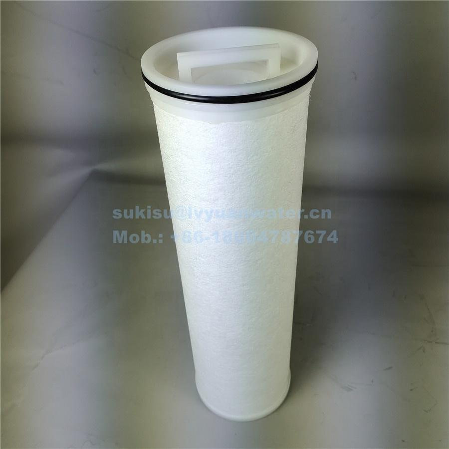 Polypropylene meltblown Large diameter 155mm High Flow PP Melt Blown Spun Filter Cartridge filter for water treatment