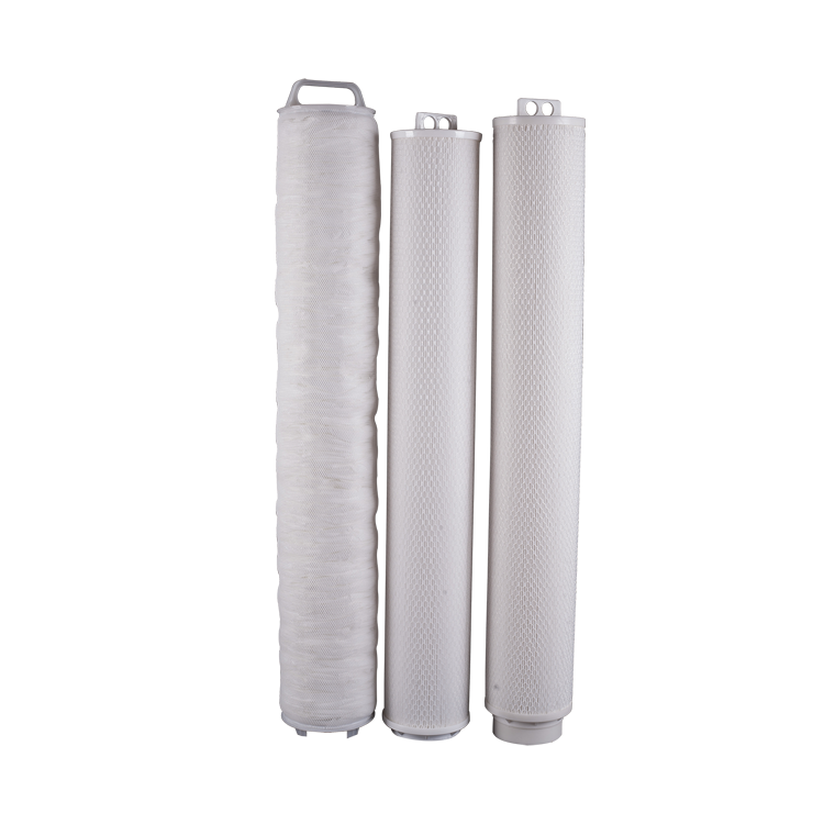 Water purifier spare parts high flow cartridge filter for water filters machine