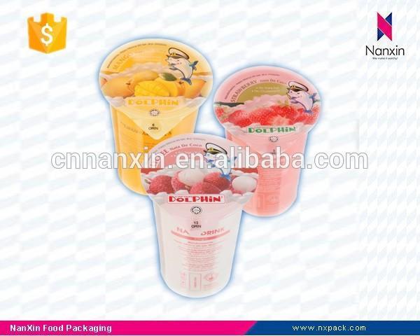 transparent cup sealing film for milk tea