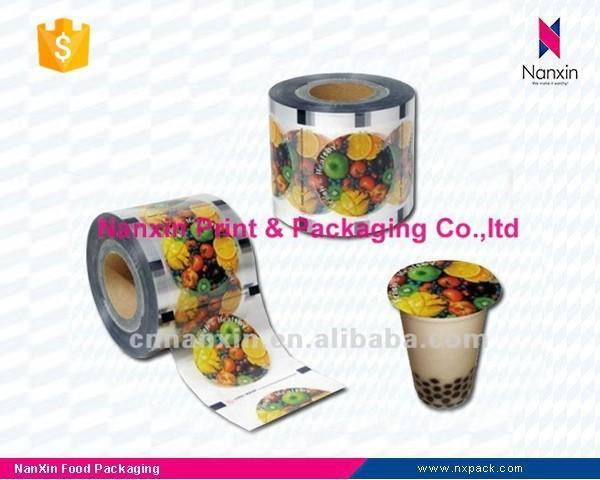 food packaging milk tea cup lid sealing film