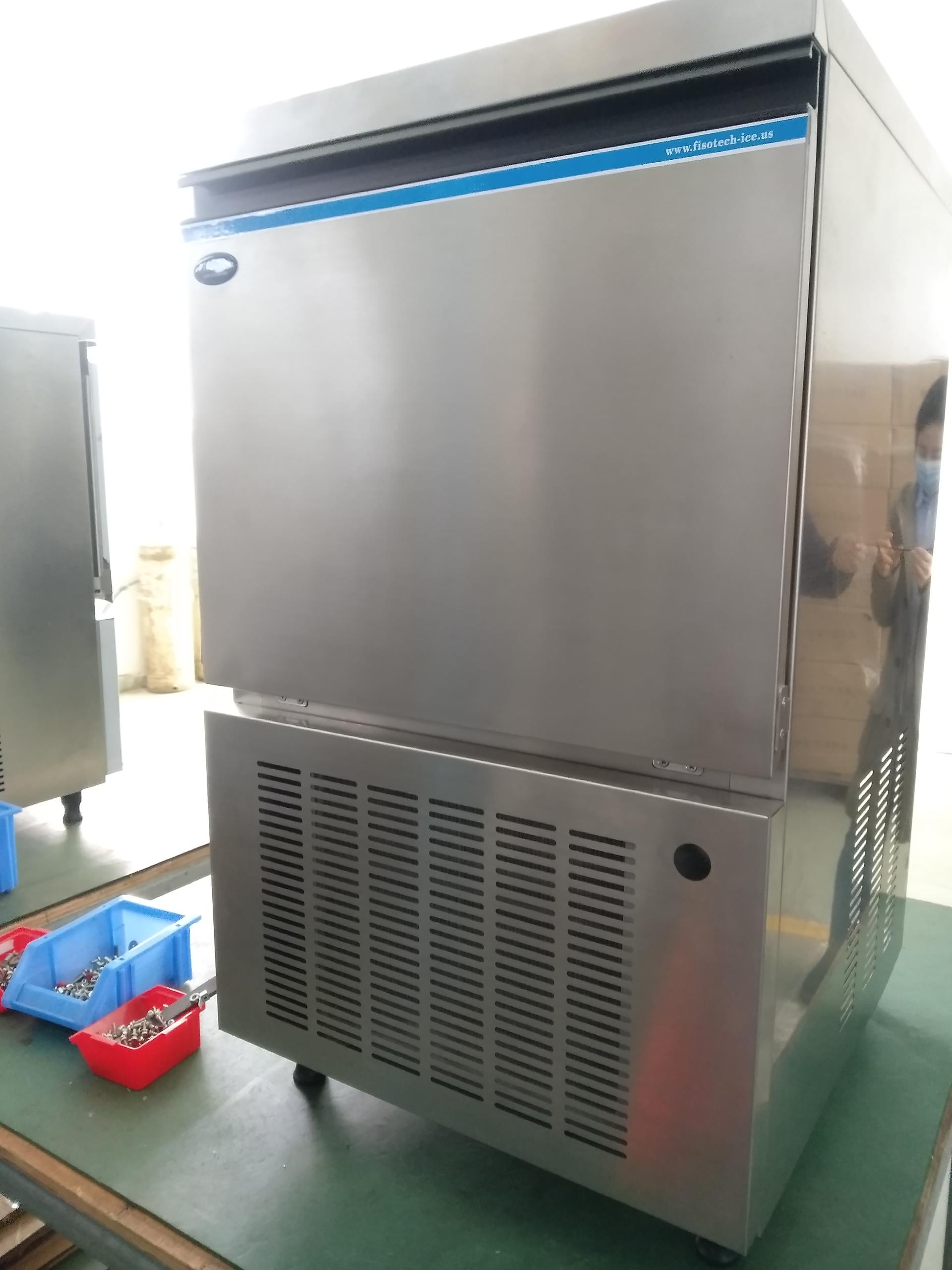 home-use Standing ice making machine with 55kg output HZBH-120