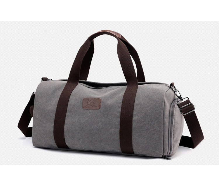 Casual Travel Duffle Bag Men Canvas Travel Luggage Bag High Quality Outdoor Shoulder Bag Weekend Handbag Travel Organizer