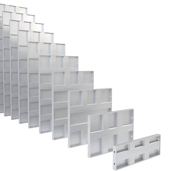 AAG popular aluminum industrial profile top brand for machine