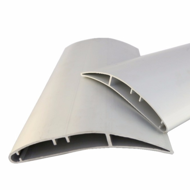 Custom design aluminum airfoil fan blade extrusion section