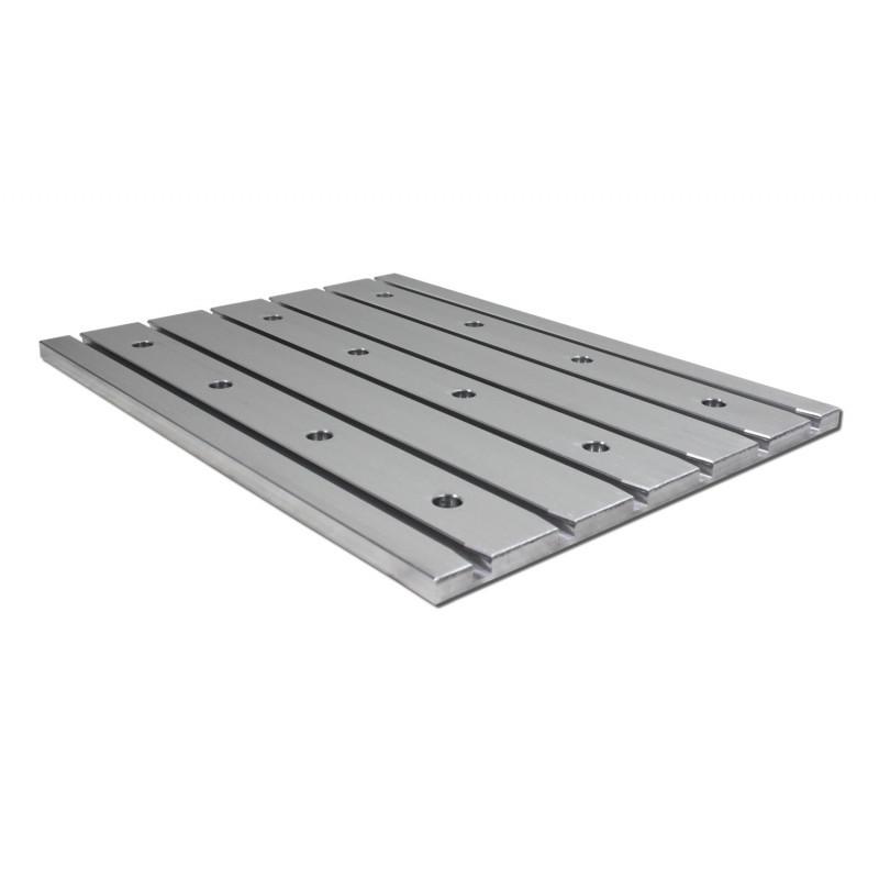 Aluminium T-slot6063 base plates with holes