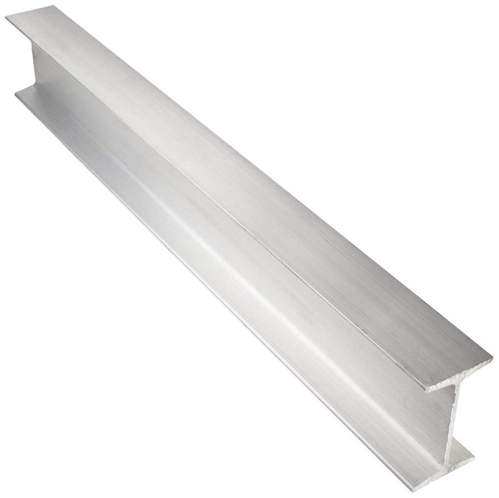 Industrial extruded durable anodized 6061-T6 aluminum i beam