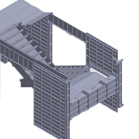 China Supplier Aluminum Formwork Concrete Construction Aluminum Template