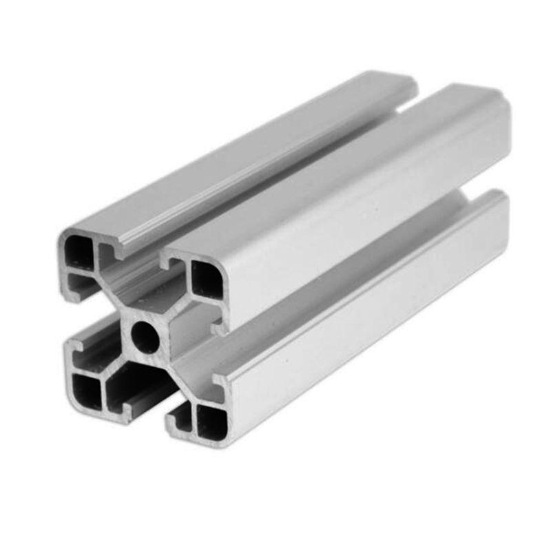 Aluminum t-slot extrusion profiles forpanel rails