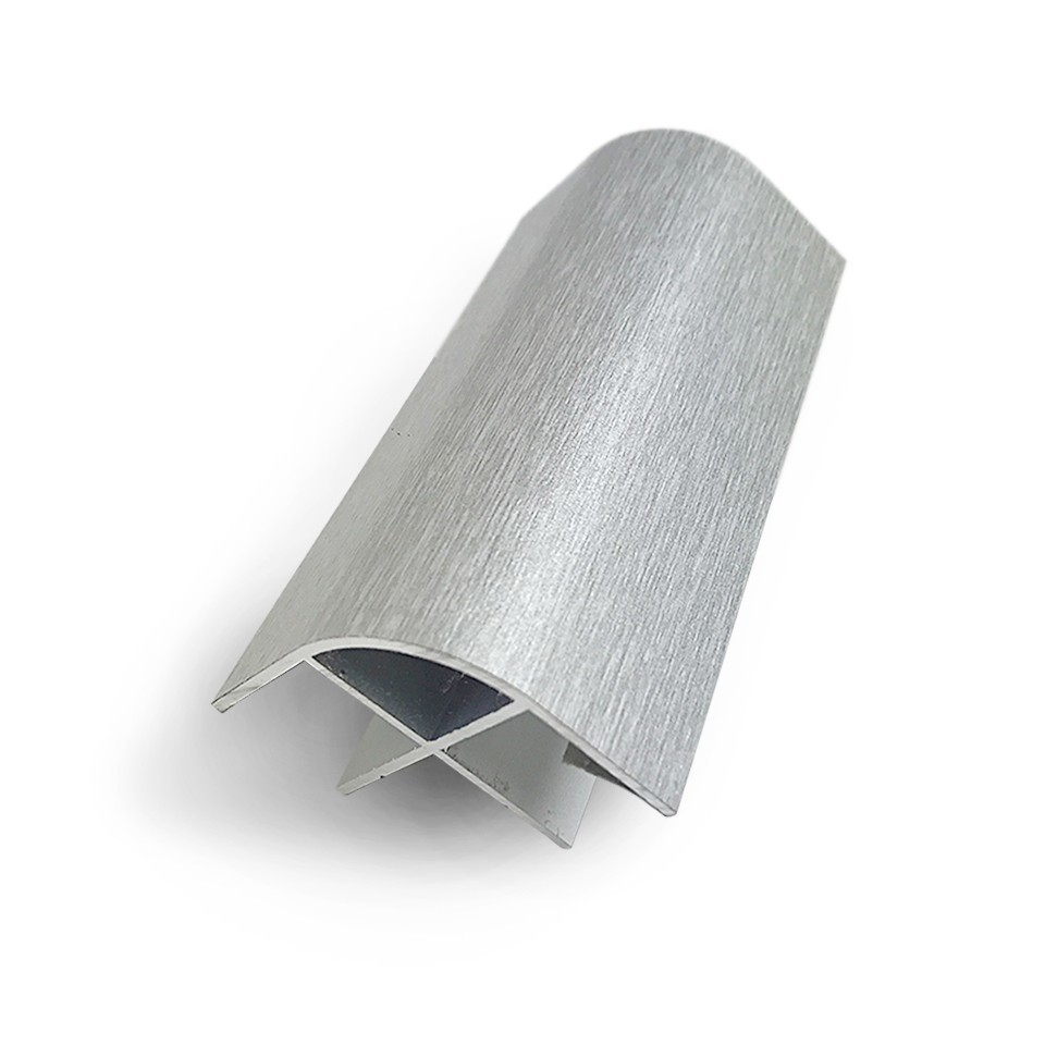 Aluminium corner profile for 15mm plywood furniture