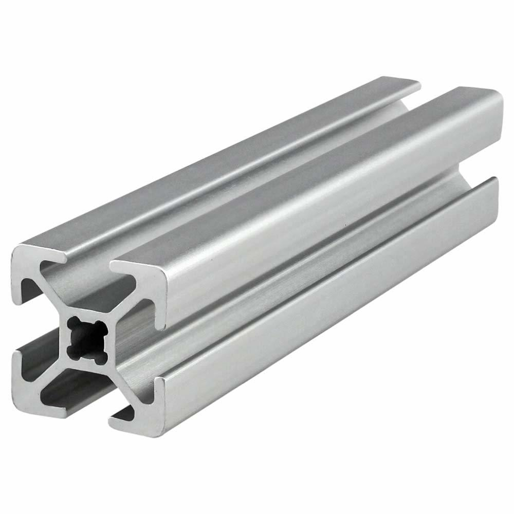 Silver 2020 T-slot aluminum profiles frame for CNC laser machine