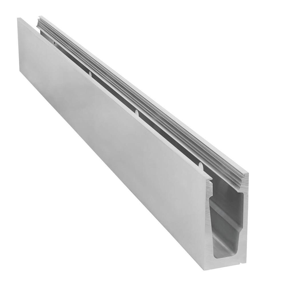 Powder coated railing handrail extruded aluminium profile