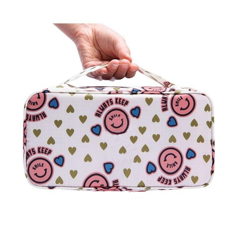 2020 New arrival Travel Bra Bag Underwear Organizer Bag Cosmetic Daily Toiletries Storage Bag Women's High Quality Wash