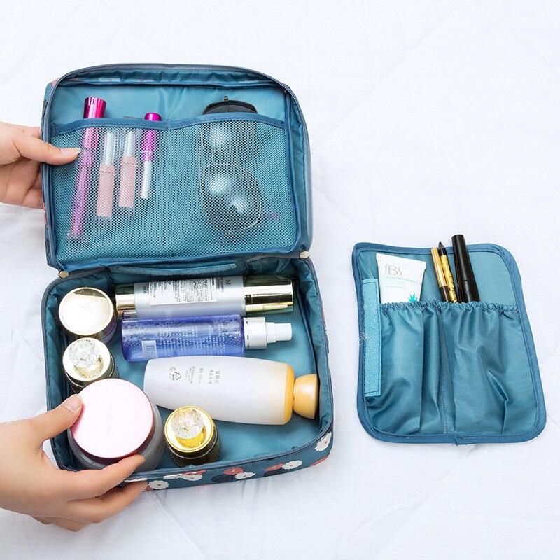Hot Sale Multifunction travel Cosmetic Bag Women Makeup Bags Toiletries Organizer Waterproof Female Storage Make up Cases Multi