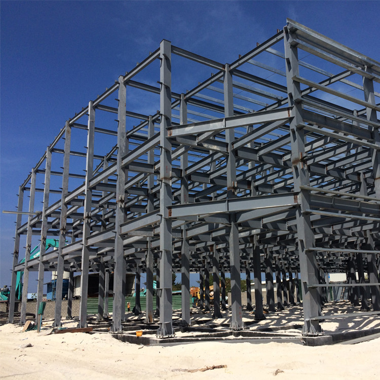 warehouse steel structure prefabricated swimming pool residential building