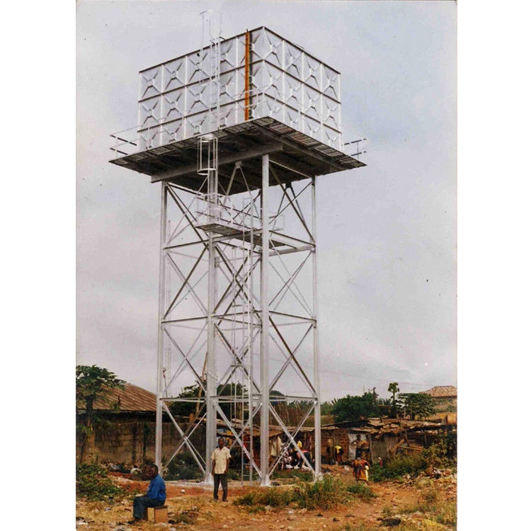 Assembly Steel Structure Overhead bolt connection Water Tank Tower