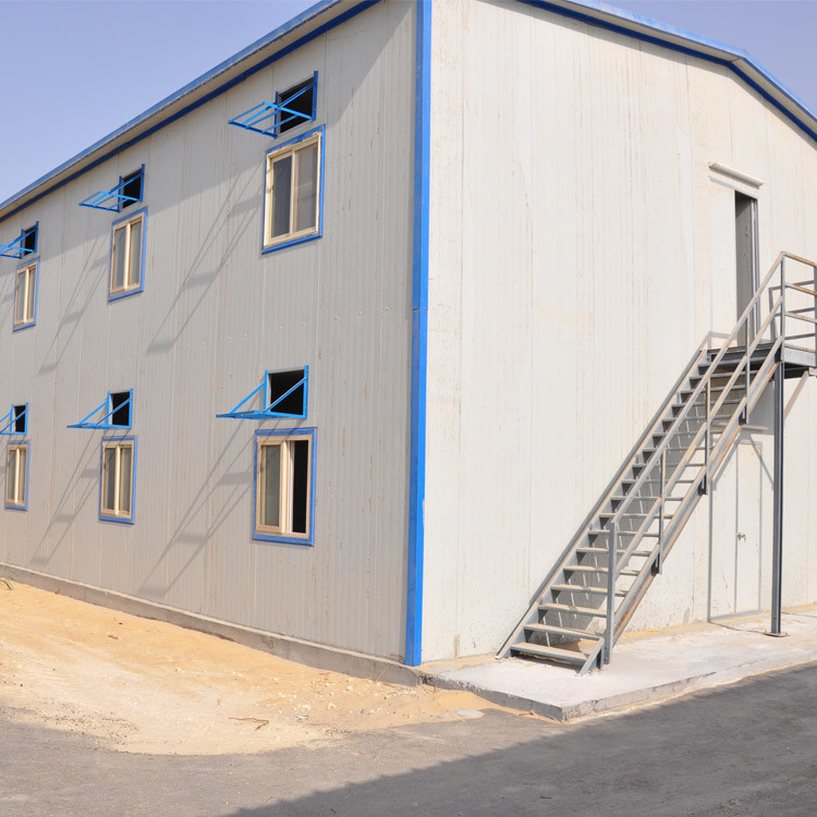 Light prefabricated steel structure warehouse for garment factory