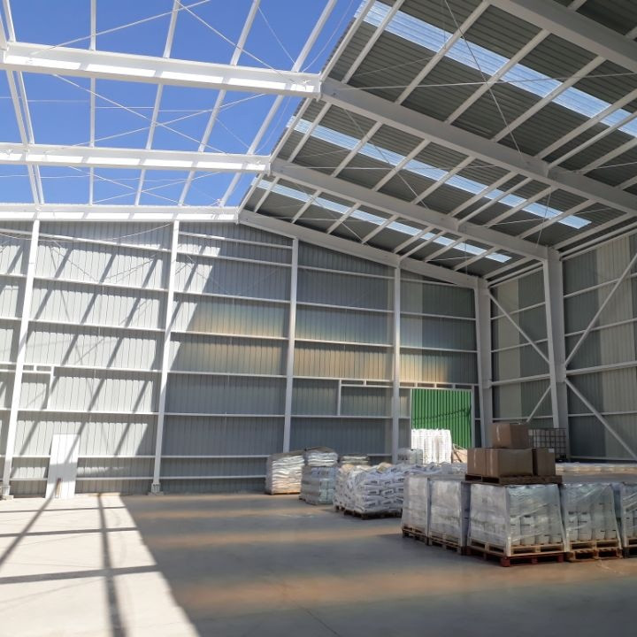 China prefabricated low cost steel structure car garage