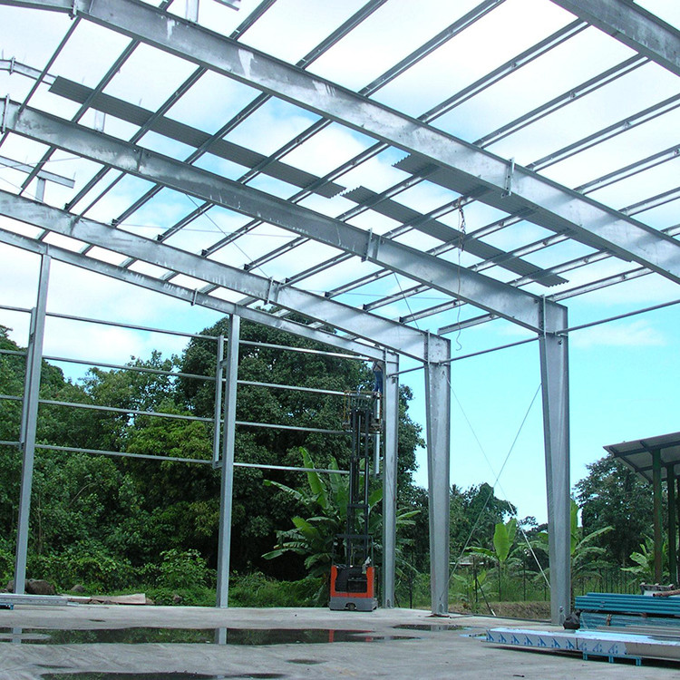 Conventional Customizable Prefabricated Building Steel Structure Warehouse