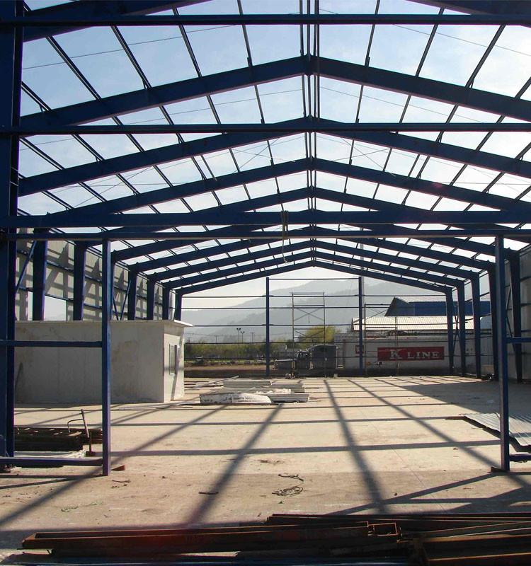 PEB building steel warehouse frame steel structure hangar