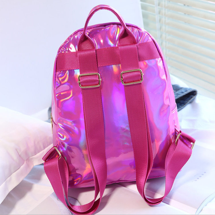 product-Osgoodway-Osgoodway2 Cute Ladies Backpack Stylish Holographic Laser College Backpack Bag for