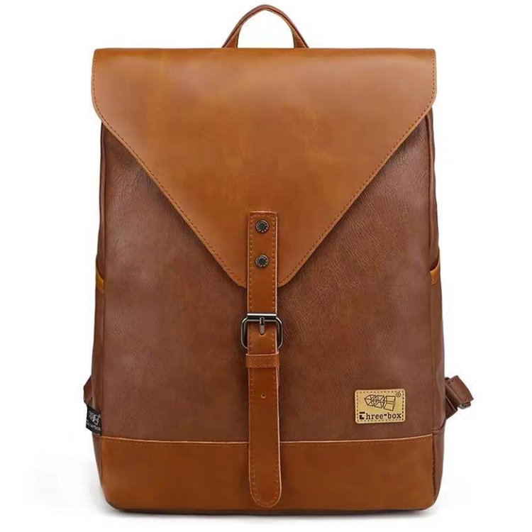 Osgoodway 2020 High Quality Leather Women Fashion Bagpack Backpack Mens Business Travel School Bags Backpacks
