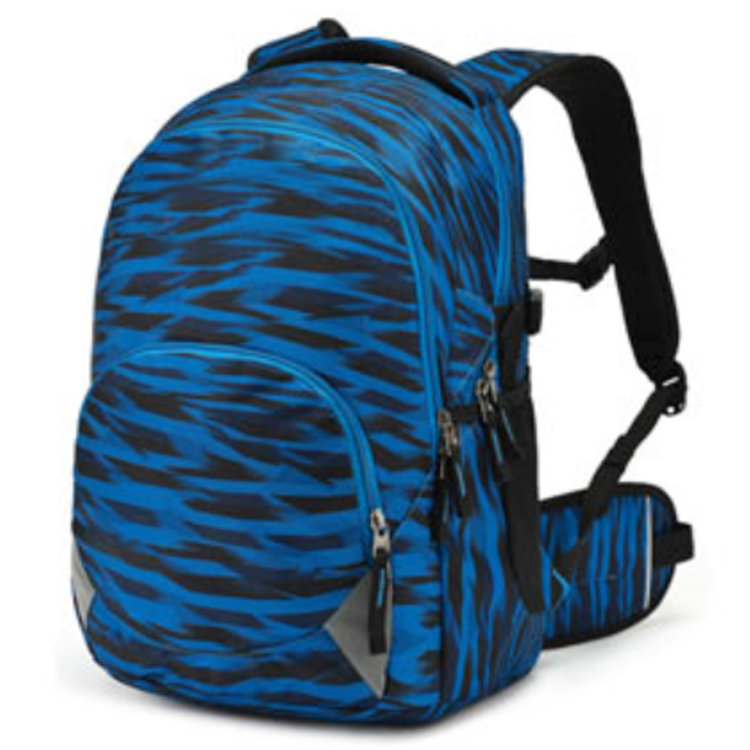 product-Osgoodway-Osgoodway Wholesale All Over Print Ergonomic High Quality College School Bags Back