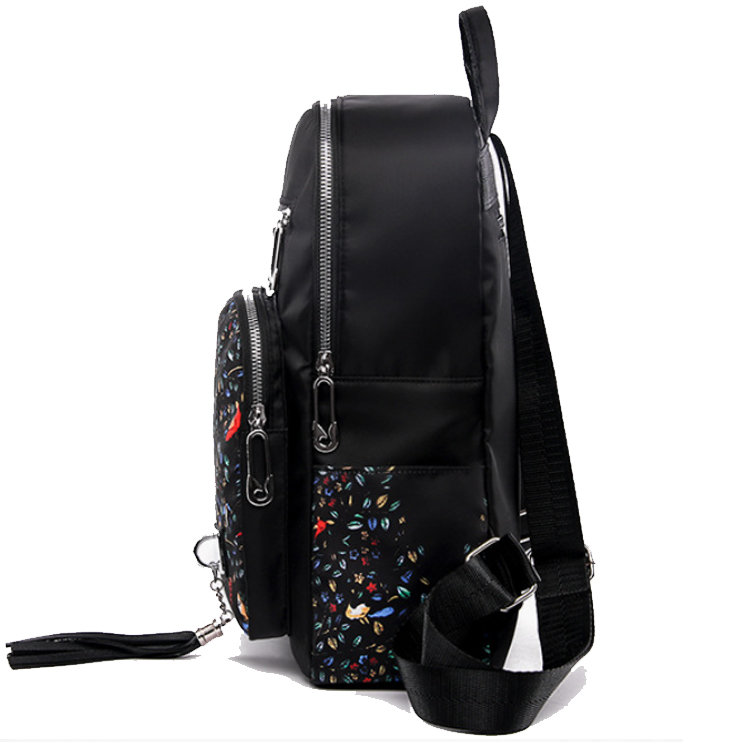 product-Osgoodway2Elephant Waterproof Nylon Lightweight School Shoulder Bag Fashion Lady College Bac-1