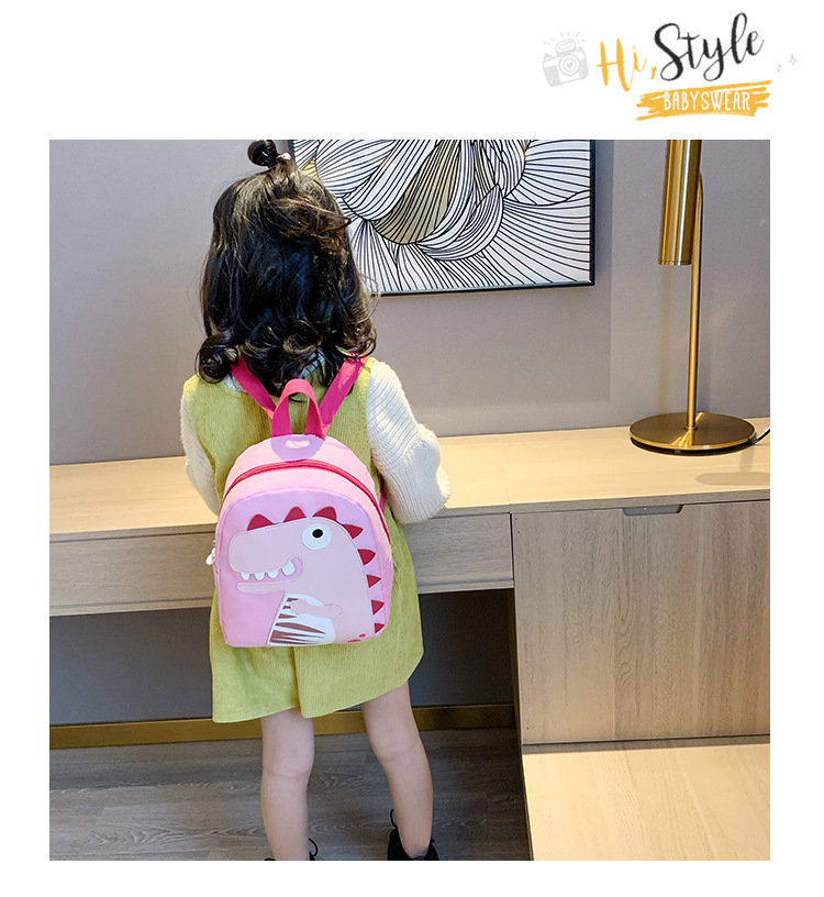 product-Osgoodway2 Cartoon kindergarten nylon cute small kids school bag children backpack-Osgoodway-1