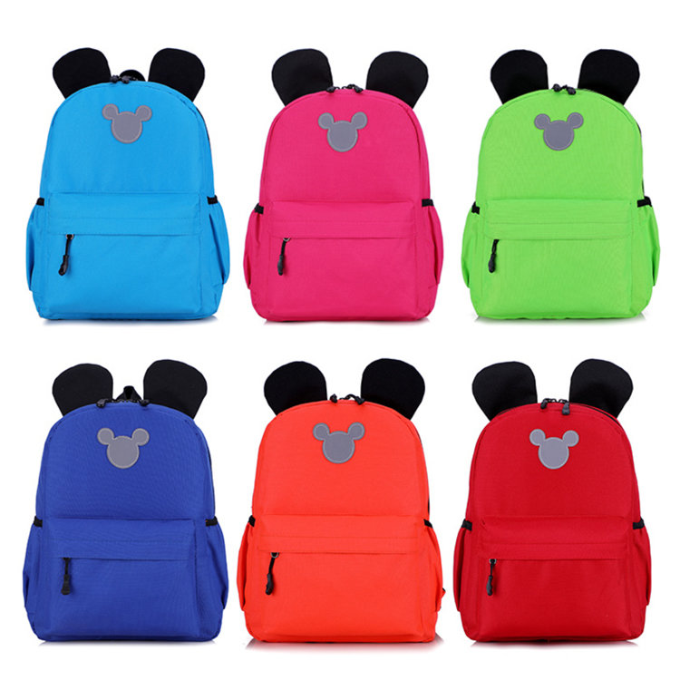 product-Osgoodway2 Mickey Mouse Shape Wholesale Kids Mini Children School Backpacks for Kids School -1