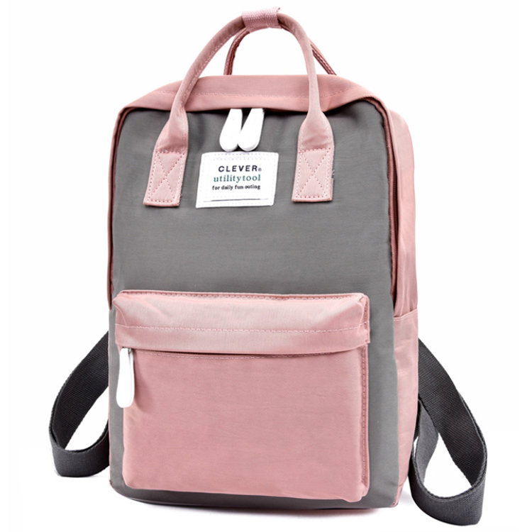 Osgoodway2 Korean Style Casual Student Sport Shoulders Backpack Bag for School