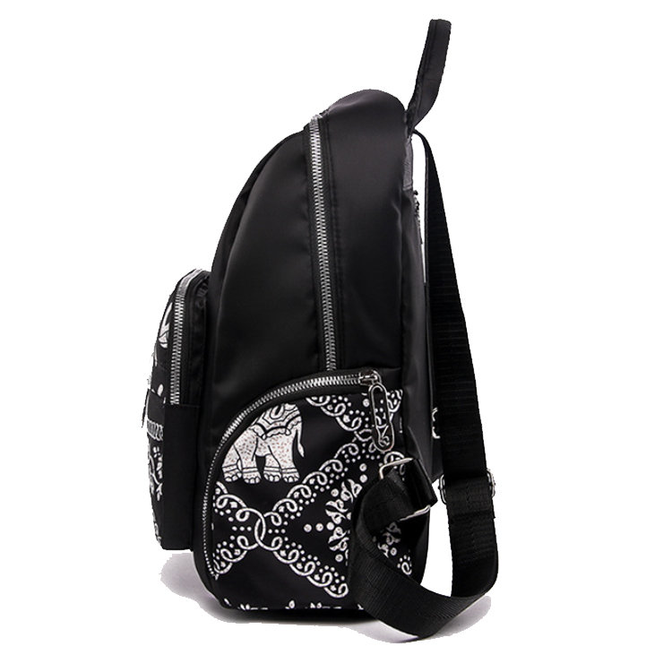 product-Osgoodway-Osgoodway2 New 2019 Nylon Women Fashion Travel Student Backpack Waterproof Ladies