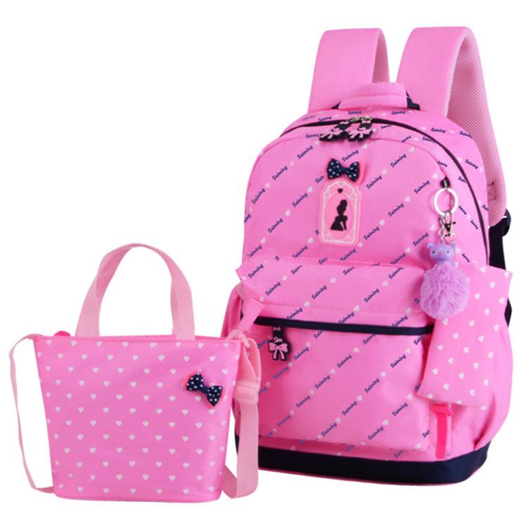 Osgoodway 3 Pieces School Backpack Bag Set Teens Backpack School Bags Fancy Backpack Set