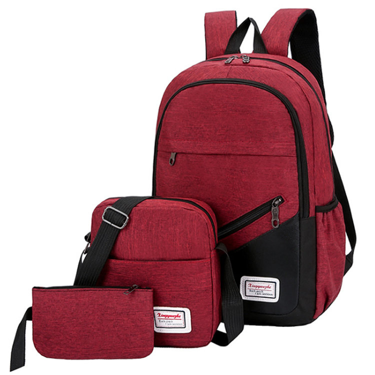 product-Osgoodway-Osgoodway2 Hot Sale Wear Resistant 3 Pieces Student Shoulders Bag Back to School B